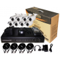 DSC DK08W2C60 комплект цифров видеорекордер с 8 външни аналогови видеокамери