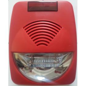 HS800 Вътрешна сирена със строб лампа